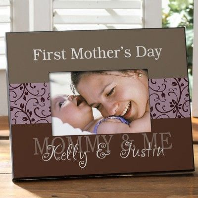First Mother's Day Picture Frame - Choice of Colors | Messages ...