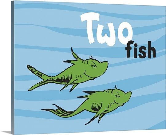 One fish two fish ocean collection ii two fish ocean for Dr seuss one fish two fish