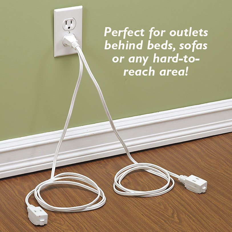 Summer Solutions For Pests Yard Work More: Double Outlet Extension Cord