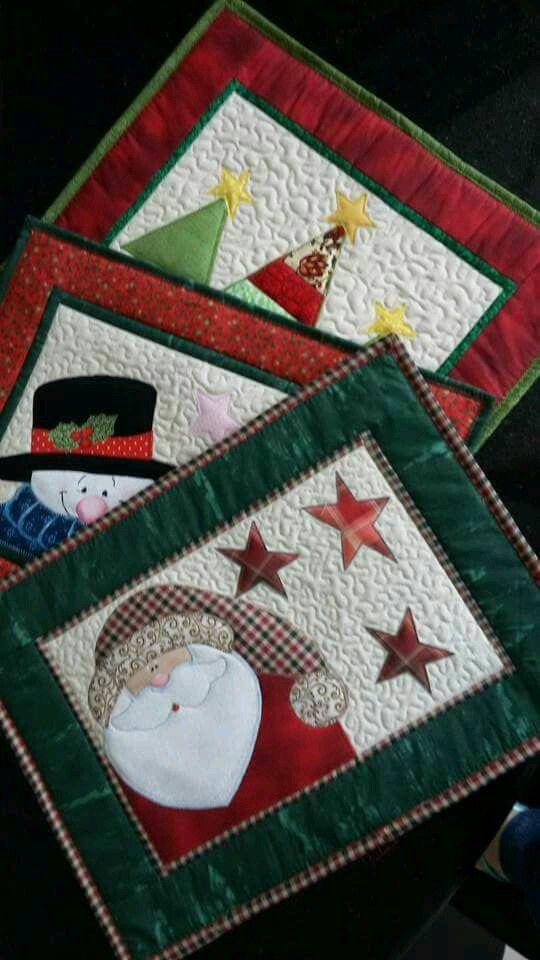 Platzset   nähen Weihnachten   Pinterest   Platzset, Amrum und Patchwork