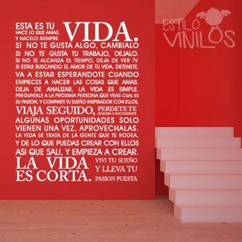 Vinilo Frase 07