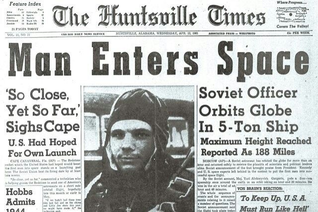 Yuri Gagarin became a much-protected Soviet icon