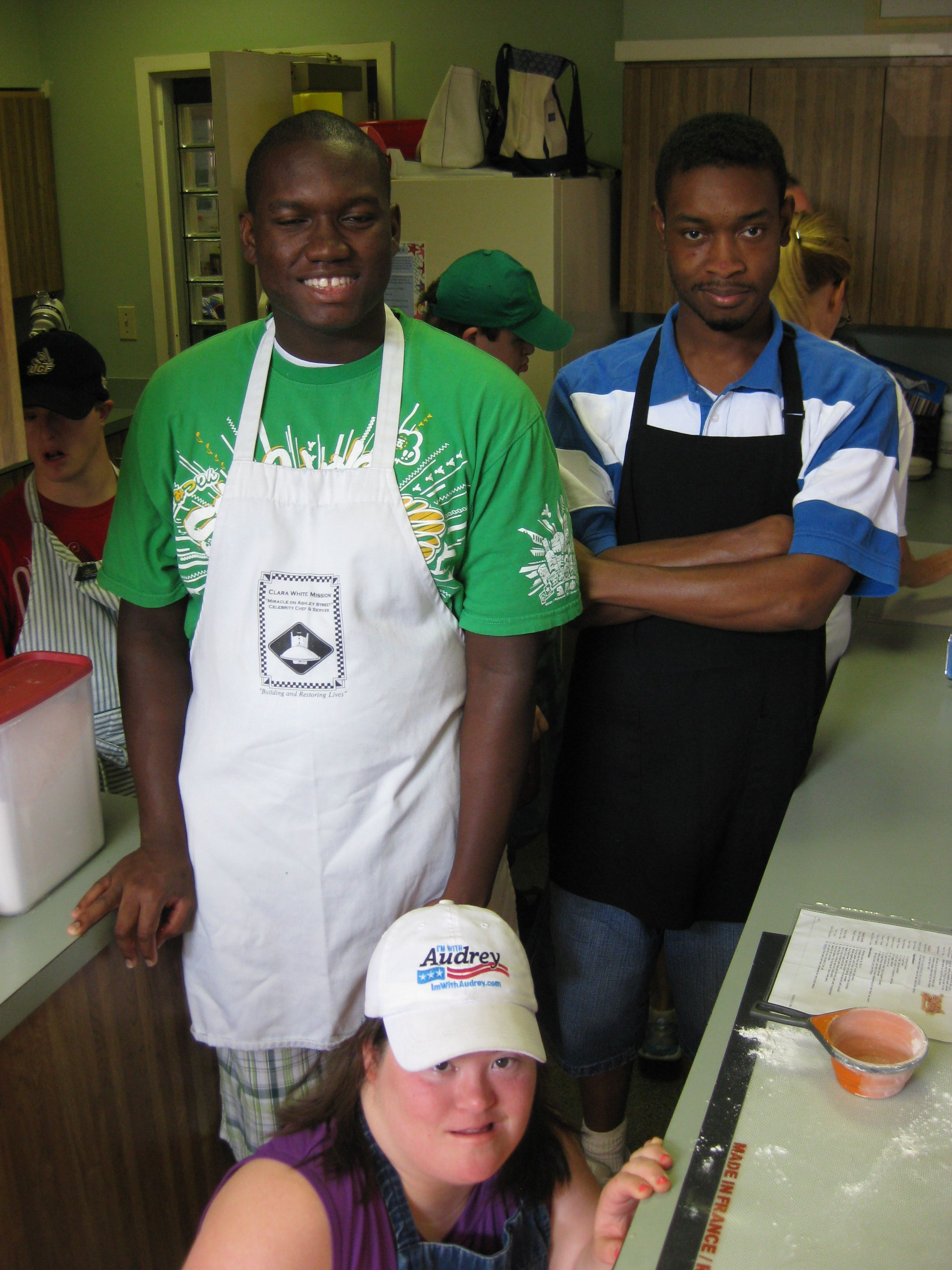 Learning Real Life Job Skills Day Program Work