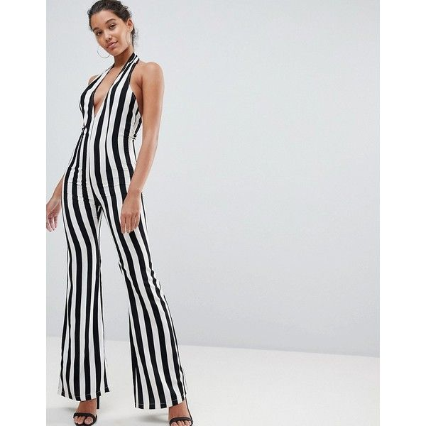 PRETTYLITTLETHING Short Sleeve Plunge Jumpsuit Free Shipping Very Cheap Free Shipping Lowest Price Official Online Buy Cheap Cheapest Price Outlet Release Dates ZKOFy