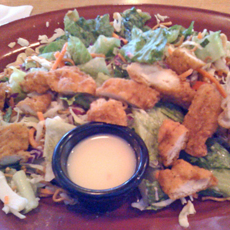 Applebees Oriental Chicken Salad Recipe  Just A Pinch -6936