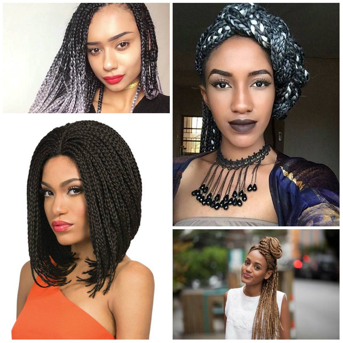 quick braid styles 2019 for women's  quick braid styles