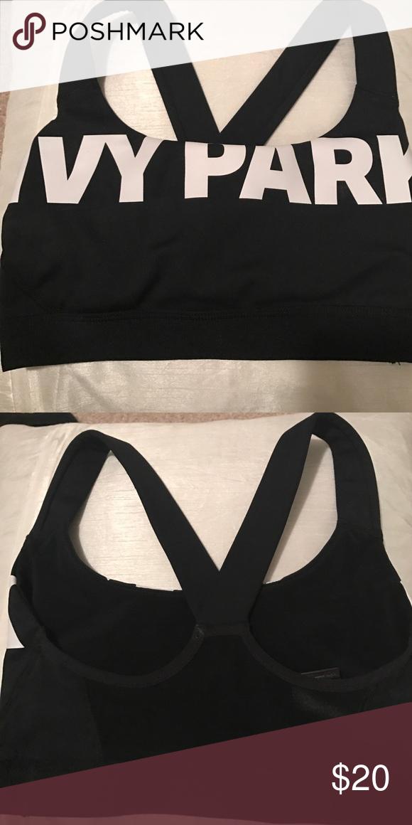 8d106d95896 IVY PARK black sports bra XS black sports bra from Beyoncé s IVY PARK brand  XS.