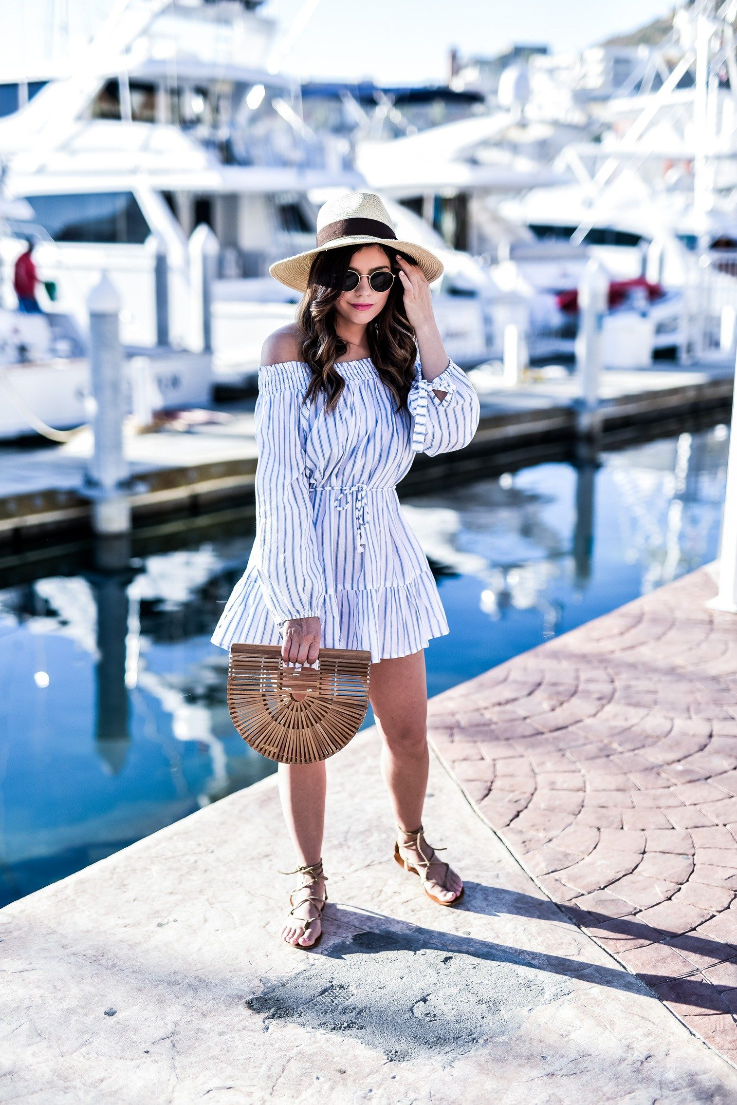 Loving This Stripped Dress For Vacation Click To Shop The Look