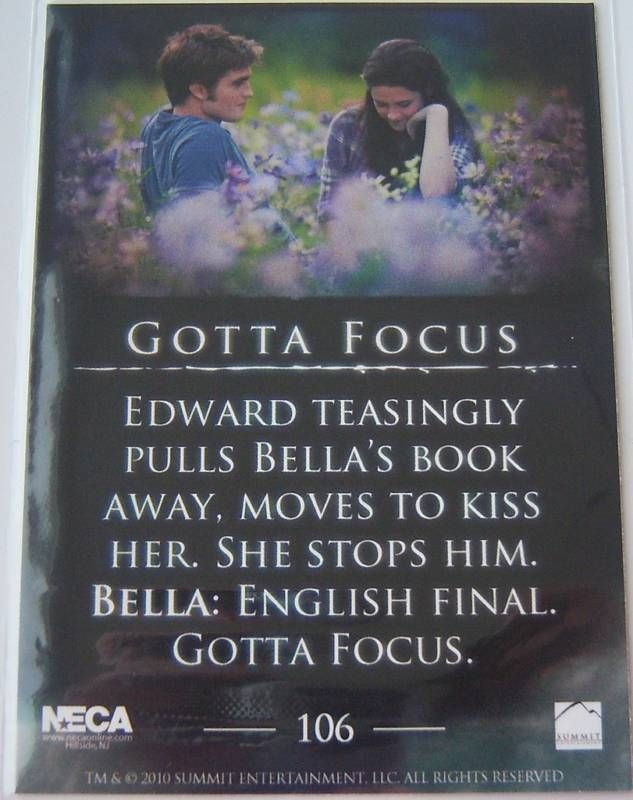 #TwilightSaga #Eclipse - Series 2: Gotta Focus #106