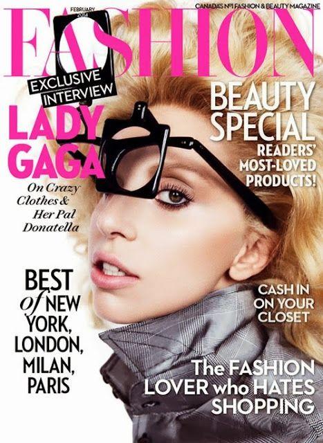 Celeb Diary: Lady Gaga in revista Fashion (februarie 2014)