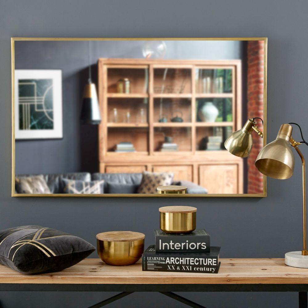 maisons du monde in arredamento e casalinghi. Miroir En Metal Dore 75x120 Maisons Du Monde Maison Du Monde Miroir Metal Miroir