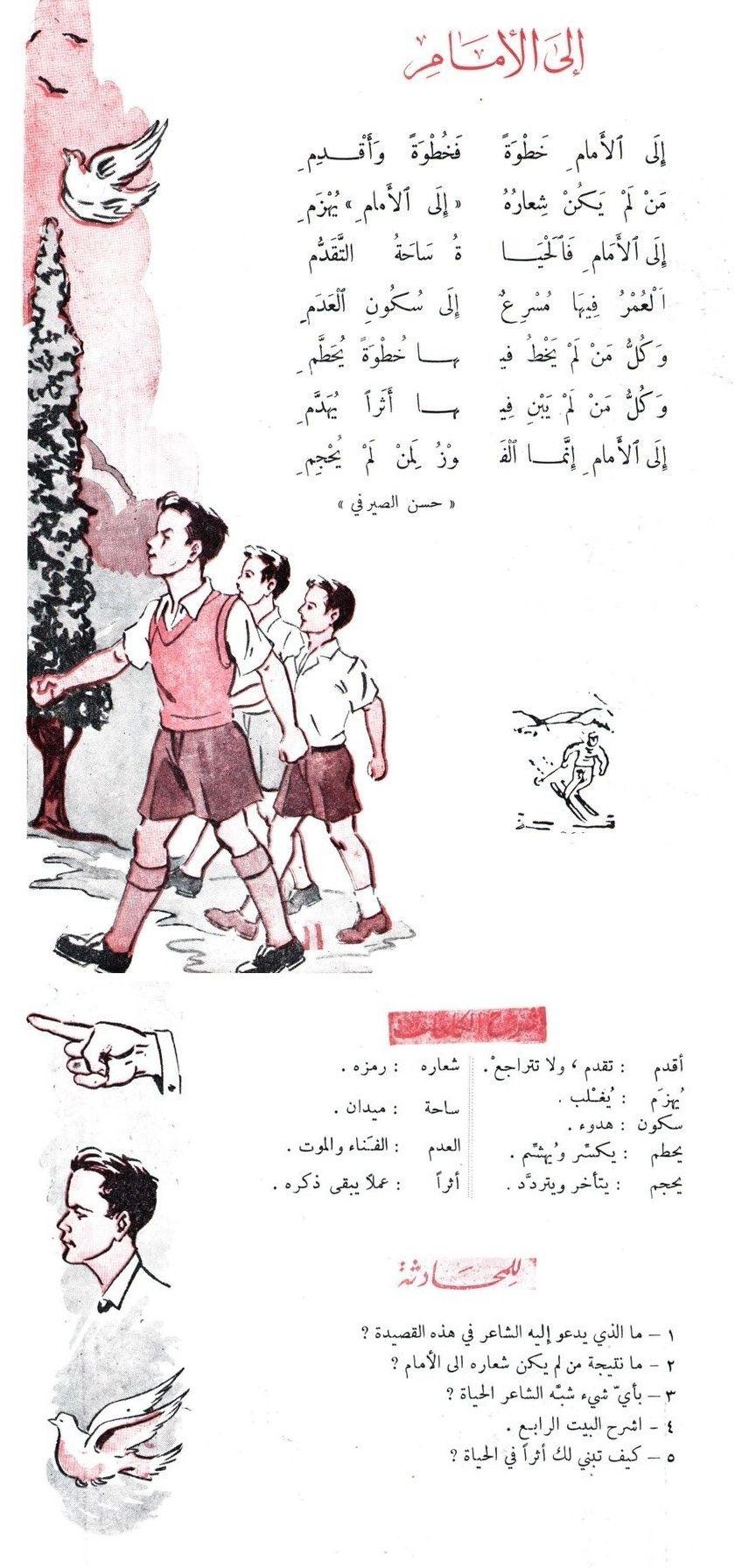 من المحفوظات المصورة شمعة تواكب الأجيال و لا تخبو Learning Arabic Homeschool Reading