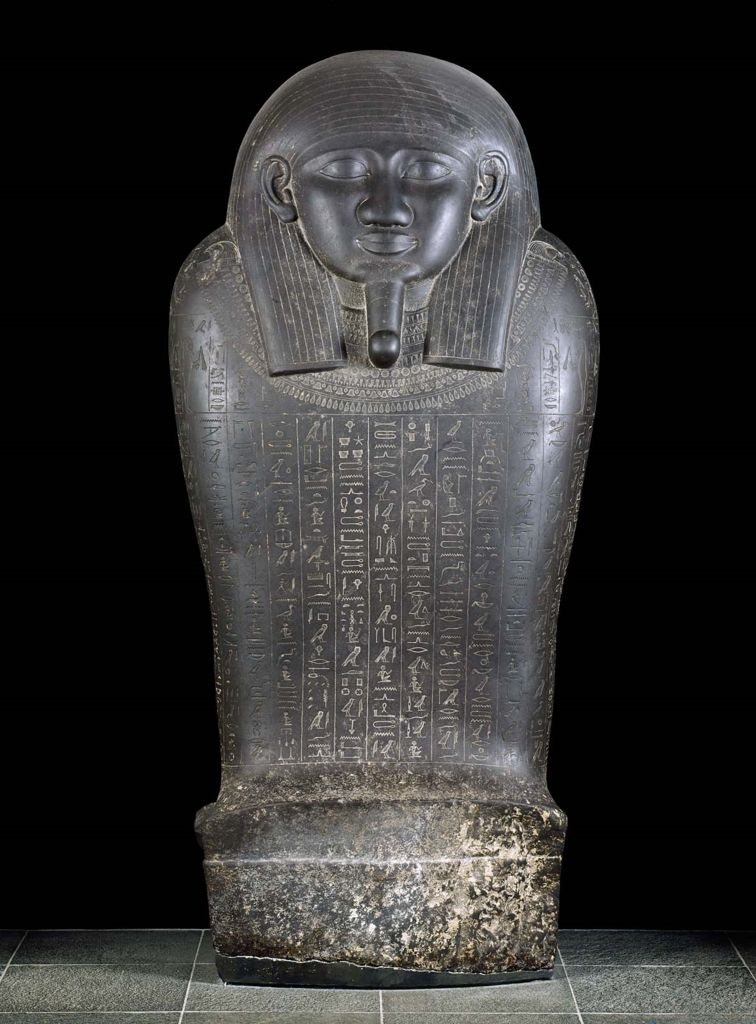 Lid of the sarcophagus of General Kheperra 570–526 B.C.  Egyptian Art | Museum of Fine Arts, Boston
