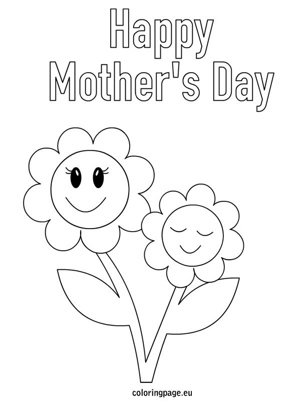 Mothers Day Greeting Card Mothers Day Coloring Cards Mother S Day Theme Mothers Day Cards Printable