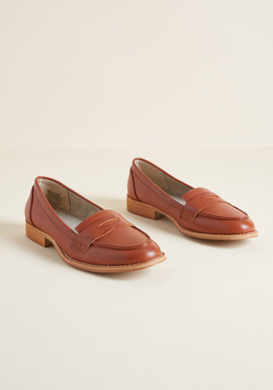c403ec8a1c0 Only a Dapper of Time Loafer in Cognac Brown