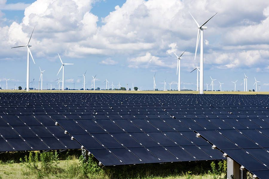 A Unique Power Project In Ohio Will Take Advantage Of Solar S Midday Burst Of Energy And Wind S All Day Power To Provide More Consistent Clean E Renewable Energy