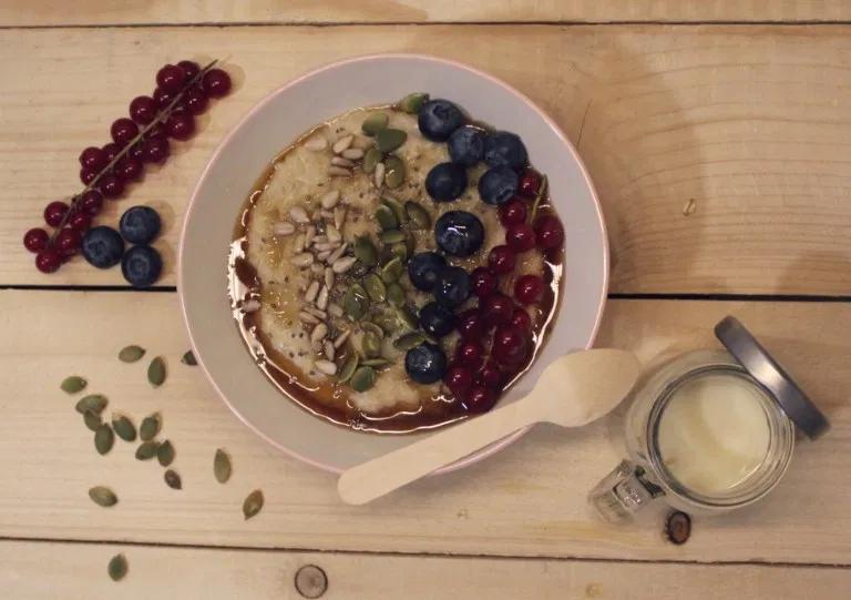 الشوفان بأنواعه و طريقة طبخه مدونة نونيتا Breakfast Vegan Breakfast Food