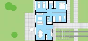 cl sica techo inclinado 3 dormitorios 8 66m procrear