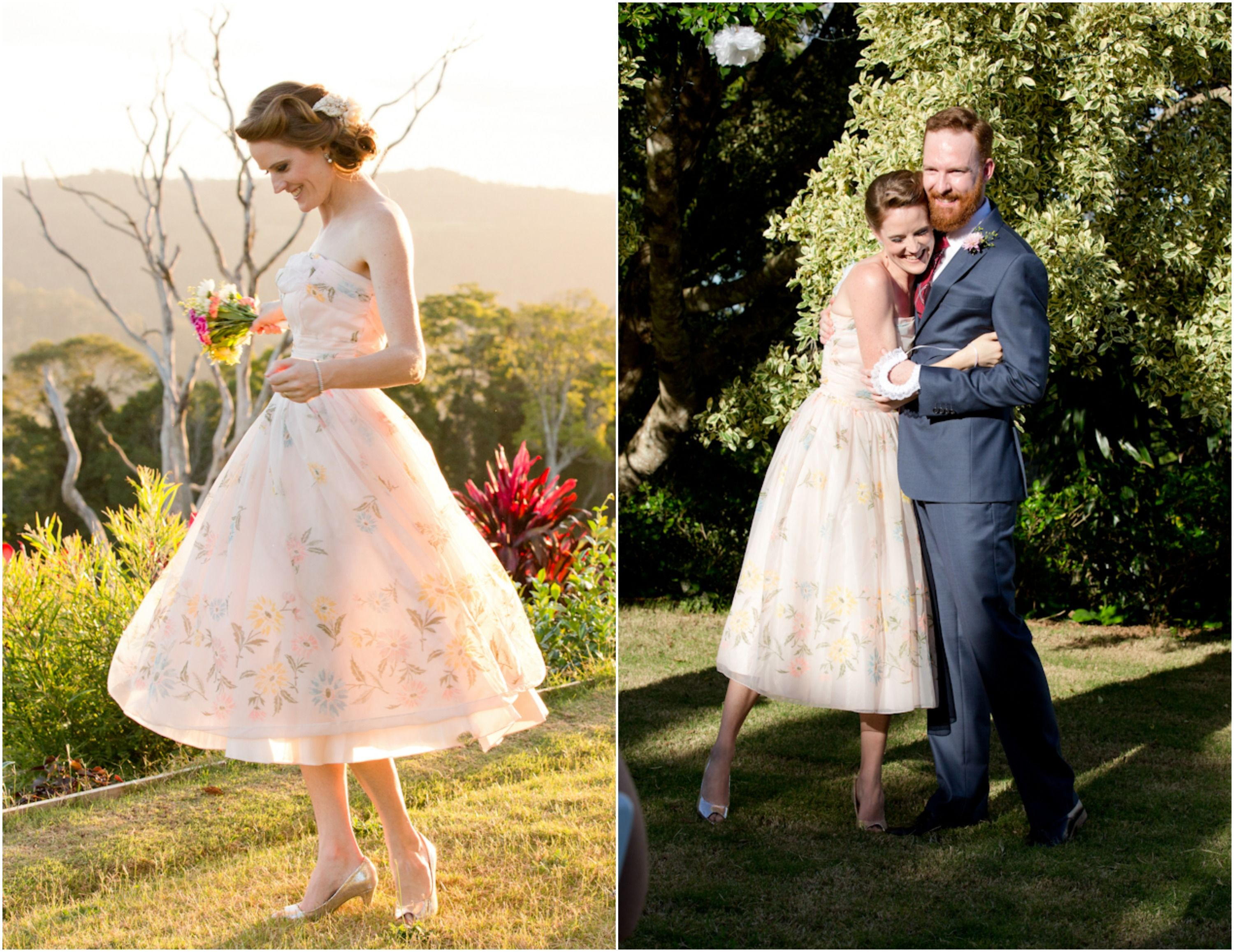 Preppy Wedding Dress Outdoor