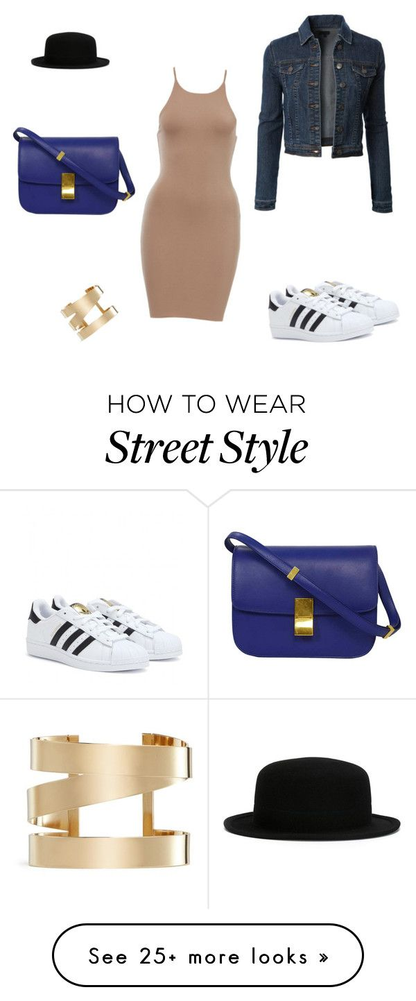 """""""Street style #3"""" by sylwiabb on Polyvore featuring LE3NO, adidas and Isabel Marant"""