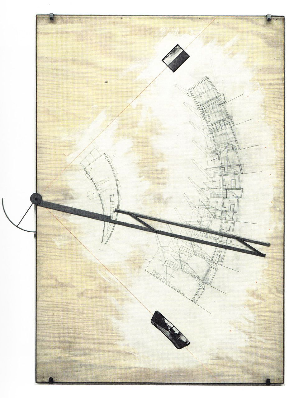 Diller Scofidio Slow House Architecture Drawing
