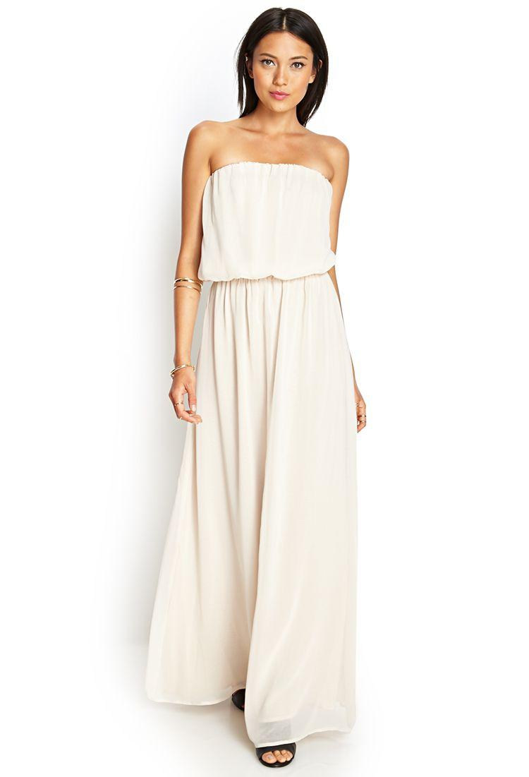Strapless Chiffon Maxi Dress Strapless Chiffon Maxi Dress Dresses Chiffon Maxi Dress [ 1101 x 750 Pixel ]