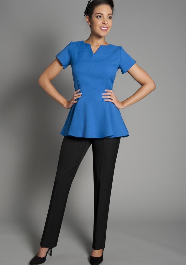 Florence roby beauty uniforms beauty tunics salon wear for Spa uniform online