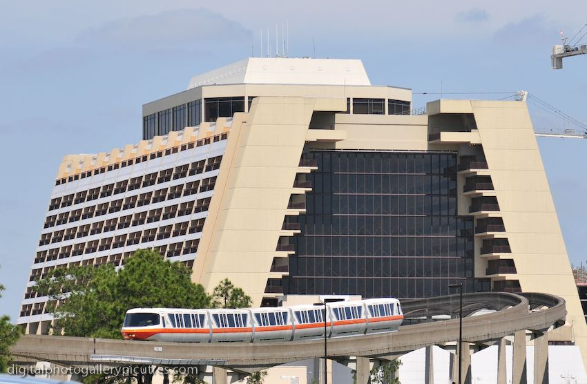 Disney 39 s contemporary resort 2 850 556 pixels for Contemporary hotel