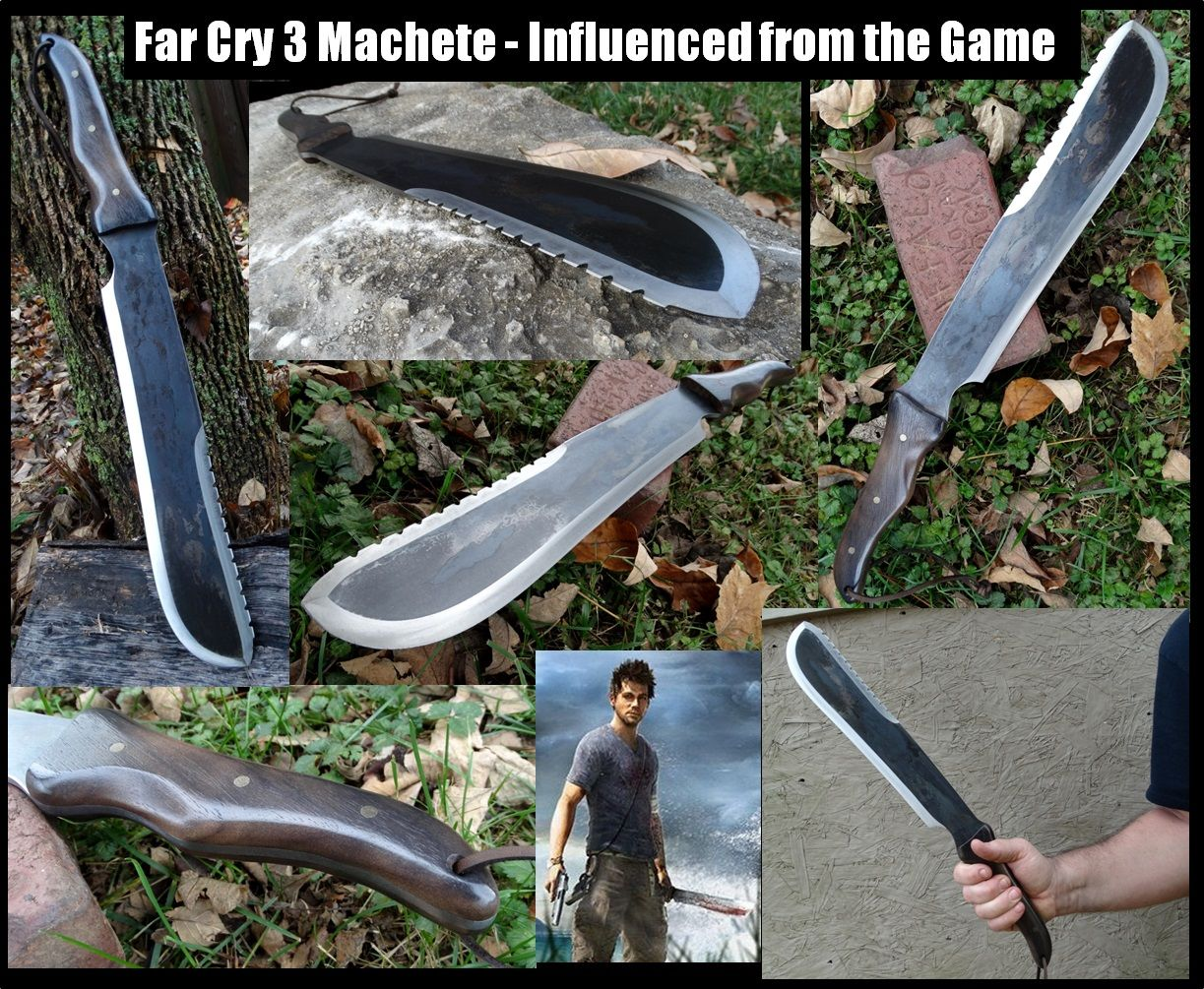 Our Far Cry 3 Machete This Machete Is Influenced From The Game Far
