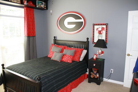 Georgia Bulldogs Dream Bedroom Boys Room Designs Decorating Ideas Hgtv Rate My E