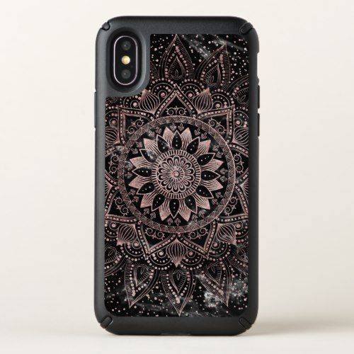 iphone x case marble rose gold