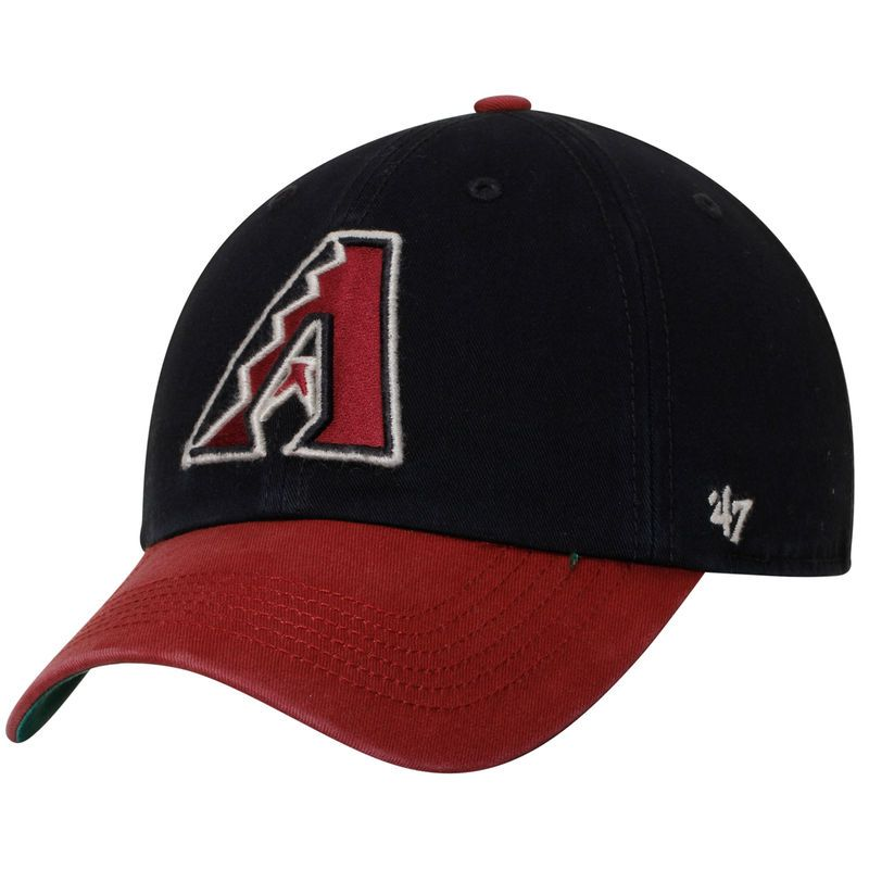 6a1e2c2101c Arizona Diamondbacks  47 Franchise Batting Practice Fitted Hat - Black Red