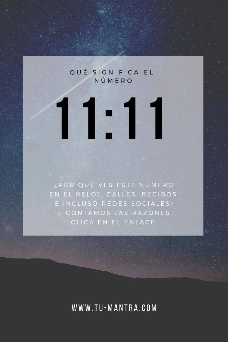 Qué Significa El Número 11 11 Y Por Qué Lo Ves En El Reloj Calle Recibos O Hasta En Las Redes So Numerologia Significado Numerología Libros De Motivación
