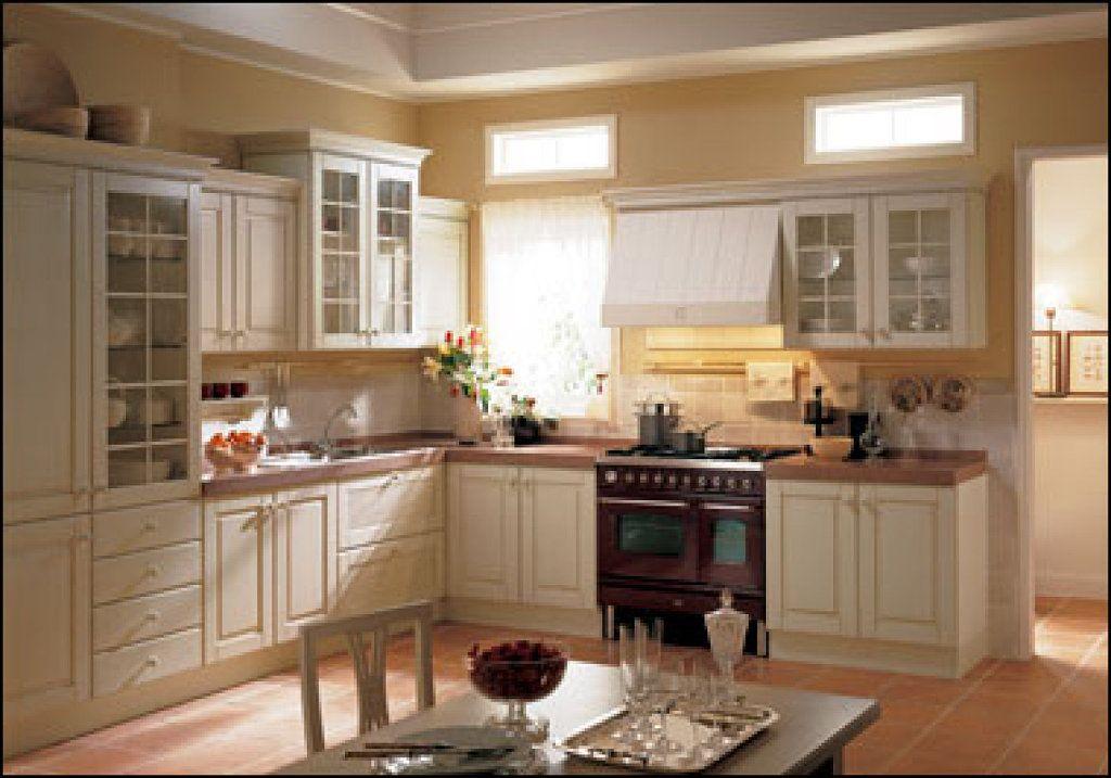 Foto modelo muebles cocina madera rustico 09 deco blanco for Muebles cocina rusticos