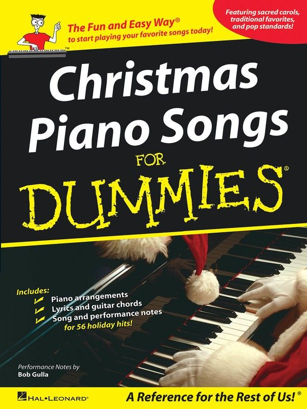 Christmas Piano Songs For Dummies Piano Songs Guitar Chords For