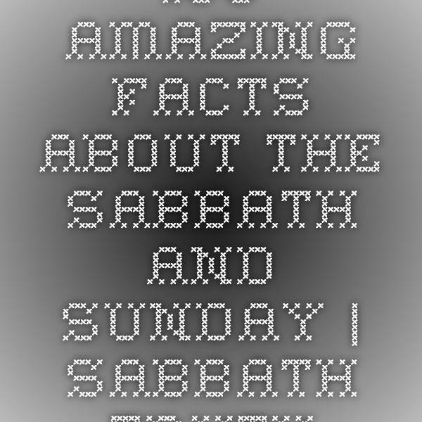 Pin by Sda Hymnal on Amazingfacts org | Fun facts, Happy sabbath