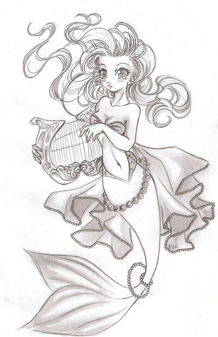 Mermaids song by NeMi09 on DeviantArt   .*. Anime Fantasea ...