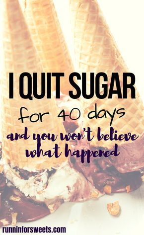 What Happened When I Quit Sugar for 40 Days #sugardetoxplan
