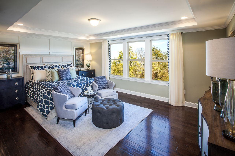 Master Bedroom Hadley Township Beazer Homes Atlanta