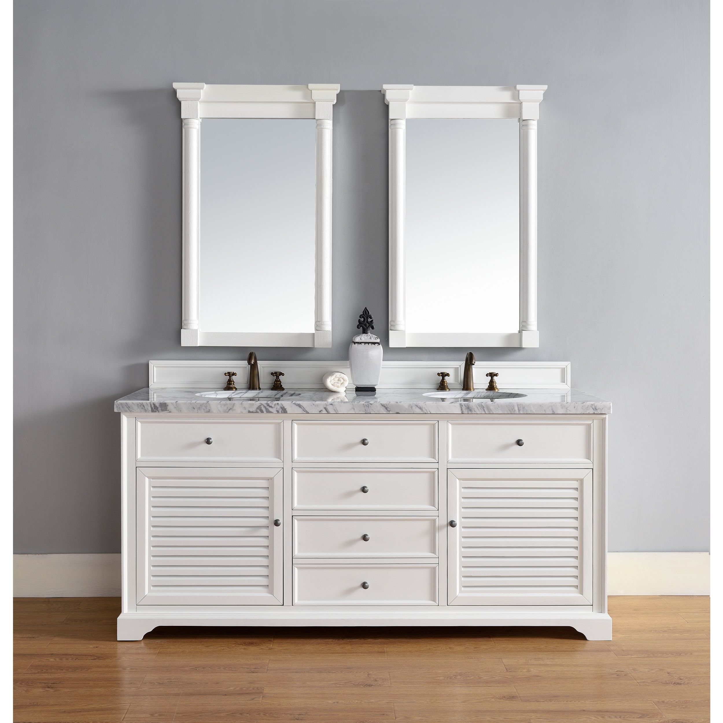 Brilliant James Martin Furniture Savannah 72 Inch Double Vanity Home Remodeling Inspirations Cosmcuboardxyz