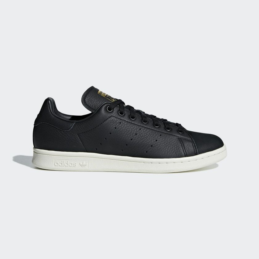 new products 3e62a 3edc1 Stan Smith Premium Shoes Black 9 Mens in 2019 | SneakerHeart ...