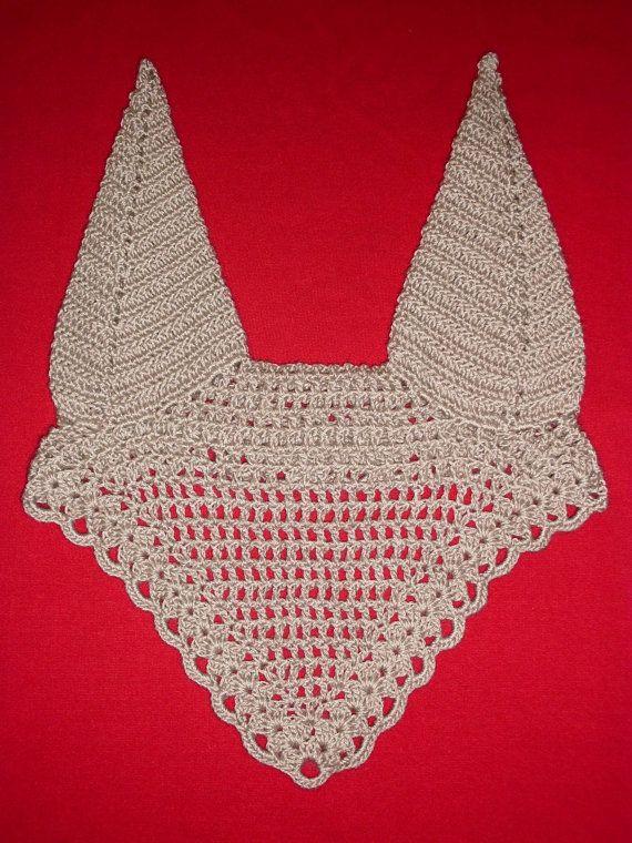Horse Fly Bonnet Crochet Pattern And Photo Tutorial Pdf Ear Net