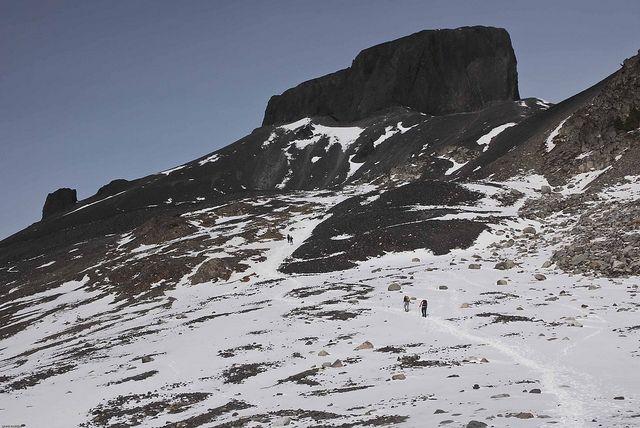 "Hiking to ""Black Tusk"", via Flickr."