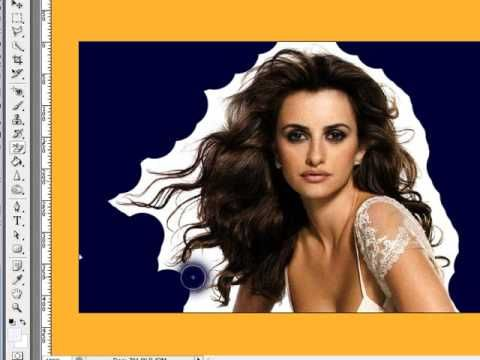 How to Remove Background Around Lots of Hair - Photoshop.  Easy to follow & duplicate. www.1stoptutorials.com