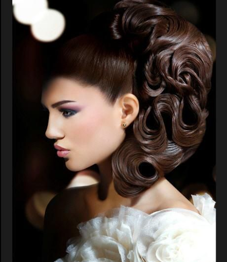 Arabic Hairstyles For Weddings: Hair Styles, Asian