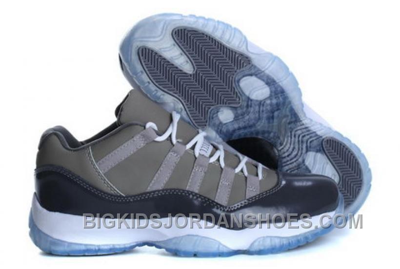http   www.bigkidsjordanshoes.com cheap-nike-air-jordan-11-low-mens-shoes- gray-2016-sale.html CHEAP NIKE AIR JORDAN 11 LOW MENS SHOES GRAY 2016 SALE  Only ... f1e74bdb0