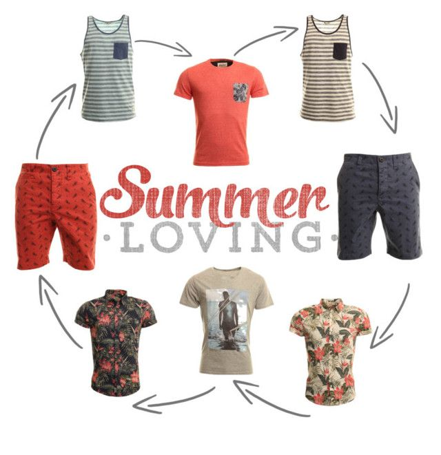 """summer mens"" by emeraldhoney on Polyvore"
