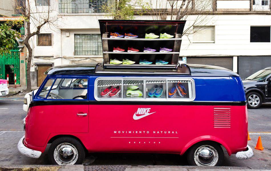 Nike Air. En el corredor cultural la condesa, D.F. *.* Quiero unos!