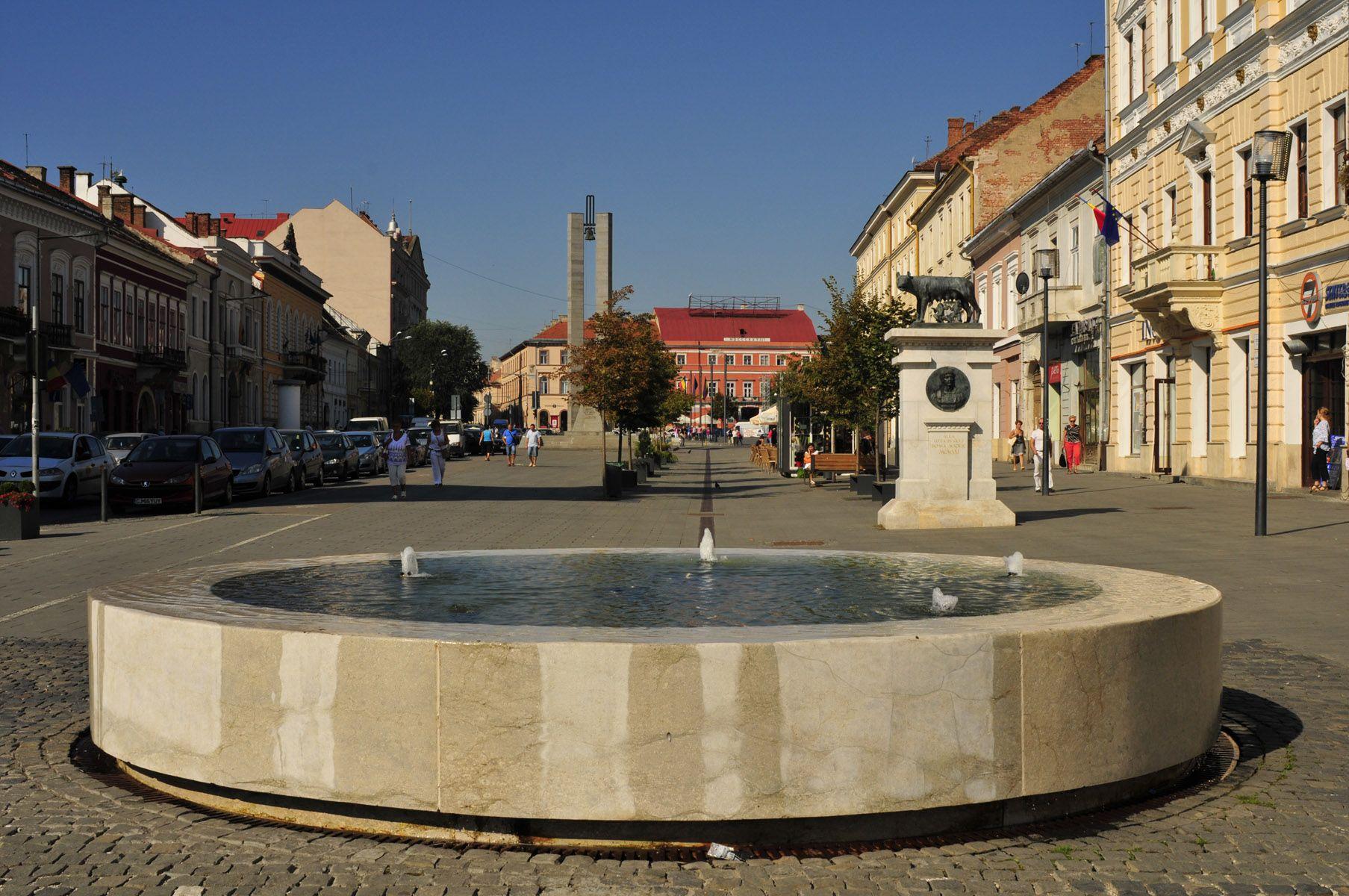Fountain, Cluj-Napoca, Romania