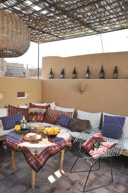 Marrakesh By Design Morrocan Homes Maryam Montague   Mediterranean   Patio    New York   Workman